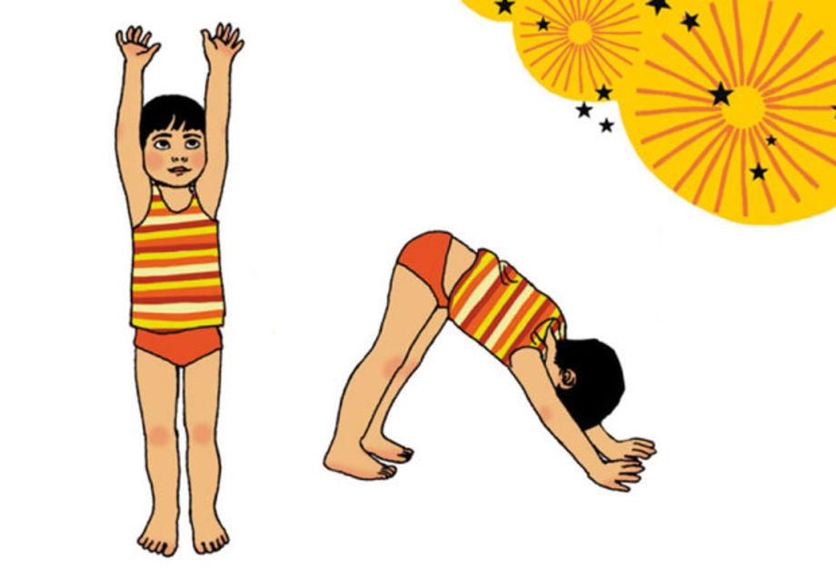 Salut, le soleil ! Envie d'initier votre tout-petit au yoga ? Découvrez vite cet exercice proposé par Elisabeth Jouanne, institutrice en maternelle et professeur de yoga.