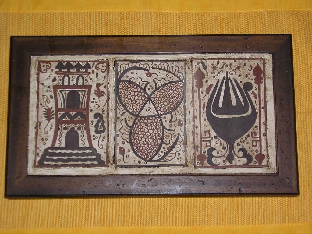 Les Socarrats représentatifs de la poterie de la fin du Moyen Âge à Valencia ESPAGNE (XIIIe-XVIe siècles).