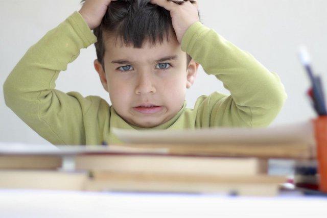 Le stress affecte aussi les enfants