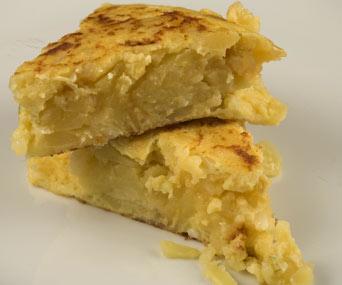 L'histoire de l'omelette  de patates  attribué à Zumalacárregui
