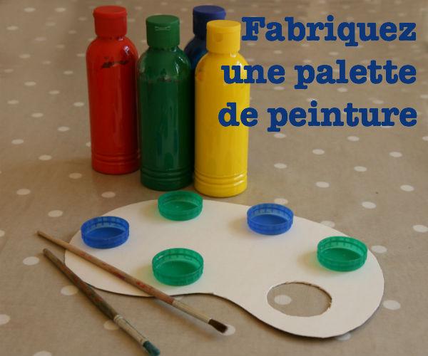 Fabriquez une palette de peinture