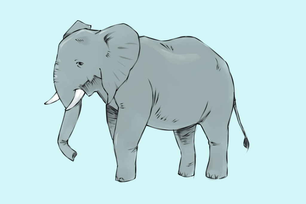 Draw-an-Elephant-Step-18